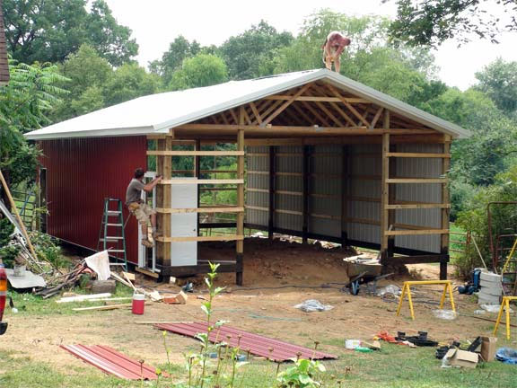 Lancaster pole building inc review for Pole barn material list free